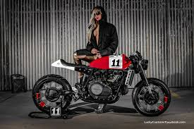 honda vf750 caf racer by lucky custom bikebrewers com