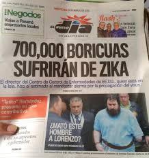 Resultado de imagen para zika en puerto rico