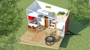 tiny house chicago. Tiny Home Fold Down Porch House Chicago N