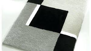 black and white bath mat modern bath mats elegant designer bathroom rugs and black white rug black and white bath