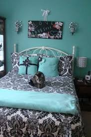 Gorgeous turquoise black and white room | Black and teal room (Master  Bedroom) | Pinterest | White rooms, Turquoise and Room