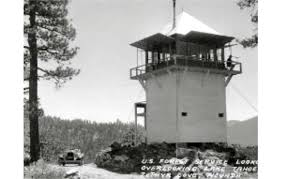 this u s forest service fire lookout may be moved to spooner summit photo usfs