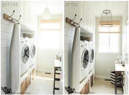 Brilliant small functional laundry room decoration ideas Ikea Image From The Woodgrain Cottage Little House Lovely Home 14 Small Laundry Room Ideas Thatll Make You Swoon Little House