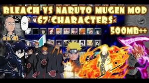 Bleach VS Naruto MUGEN MOD 67 Characters ANDROID {500MB DOWNLOAD} | Naruto  mugen, Naruto, Naruto games