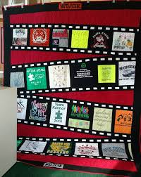 273 best Quilts--T-shirts images on Pinterest | Sewing projects ... & movie film t. Shirt quilt Adamdwight.com
