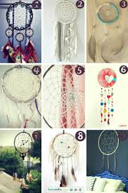 DIY Dreamcatchers are so much fun! 9 Free dreamcatchers to make today!