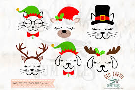 Looking for christmas images and vectors? Free Christmas Cat And Dog Bundle Svg Png Eps Dxf Pdf Formats Crafter File 20570 Free Svg Files For Cricut Silhouette And Brother Scan N Cut