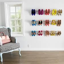 diy wall mounted shoe rack