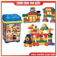 Thùng đồ chơi lego lắp ráp - Bộ lego xếp hình cho bé 110 chi tiết cho trẻ  từ 3 tuổi Oxford OBP2041 - Nhựa ABS cao cấp chính hãng 1,195,000đ
