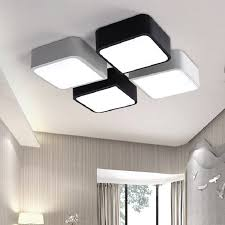 cheap ceiling lighting. plain ceiling new modern rectangle led ceiling light diy home living room bedroom  minimalism lamps white and throughout cheap lighting