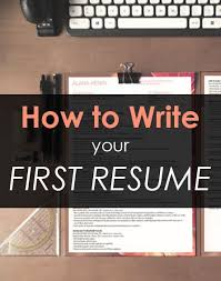 First Job Resume Samples   Free Resumes Tips Dayjob