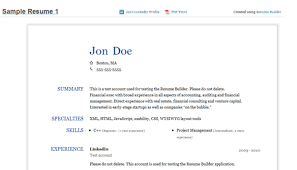 Enchanting Resume From Linkedin 68 About Remodel Resume Examples with Resume  From Linkedin