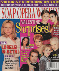 Guiding Light Soap Opera Book Beth Chamberlin Guiding Light L Genie Francis Anthony