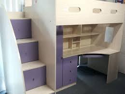 desk desk twilight single combo loft bed with lilac front features kids bunk beds loft