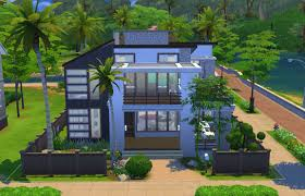 finest chic modern house building sims hj
