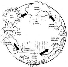 Small Picture Water Cycle Coloring Page Coloring Book of Coloring Page