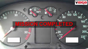 How To Reset Service Light On Vw Passat 1999 How To Reset Service Light On Vw Golf 4