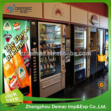 Self Service Vending Machines Impressive Selfservice Snacks And Drinks Vending Machine With Cashless Payment