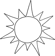 Small Picture sun coloring page printable for preschool Coloring Point