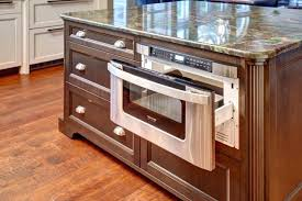 microwave in island. Microwave In Island Photo 3 Of 8 Cool Drawer Technique Traditional Kitchen Decoration Ideas With . N