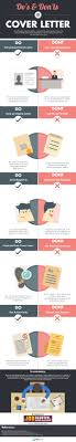 cover letter dos and don ts cover letter dos and donts for job seekers infographic