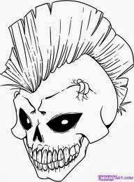 Small Picture skull coloring pages 1jpg