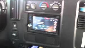 Chevrolet Express Van Double Din Kenwood DNX-6140 Navigation ...