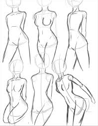 Draw An Anime Girl Body Result For Poses Ing References Casual Art