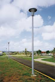 Round Tapered Aluminum Light Pole Round Tapered Tuff Poles Manufacturer In United States By
