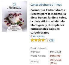 📚   📖 U003e COCINAR SIN CARBOHIDRATOS De @carlosabehsera Hoy En #KindleFlash  A 3,99u20ac   🛒 U003e Link En Mi Pe | Librosflash 📚 (@librosflash)   MyStalk