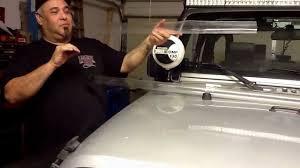 Jeep Jk Light Bar Wind Noise Jk Light Bar Whistle Fix Youtube