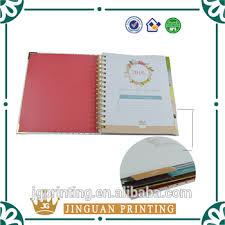 Custom Daily Planner Custom Printing Colorful Daily Planner Agenda Planner Month Planner