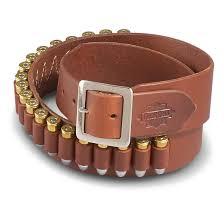 guide gear leather cartridge belt 44 45 caliber