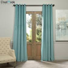 Turquoise Curtains For Living Room Compare Prices On Custom Drapes Curtains Online Shopping Buy Low