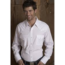 Ely Cattleman Long Sleeve Western Shirt 190618 Shirts