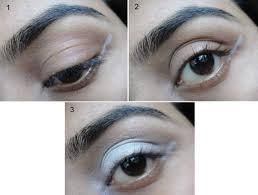 black winged eye makeup tutorial