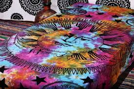 Amazon.com: Psychedelic Celestial Sun Moon Stars Tie Dye Tapestry, Hippie  Hippy Wall Hanging, Indian Tapestry, Sun-moon Tapestry, Celestial Tapestry:  Home & ...