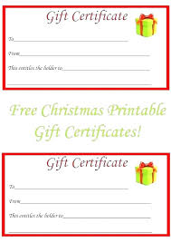 Make Your Own Gift Certificate Templates Free Gift Certificate Templates Printable Certificates For Any Print