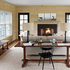 ... Living Room, A Family Home Thats As Cozy As It Is Spare Tan Wall Living  ...