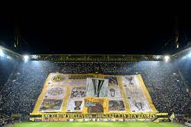 The creative tifo can be seen in the video below. Dortmund Fans Hoist Another Legendary Tifo Fear The Wall