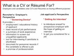 what-is-a-resume-effective-cv-resume-writing-