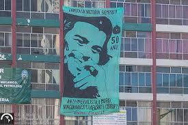 che guevara tour travel trans americas journeytrans  50th anniversary che s death banner la paz