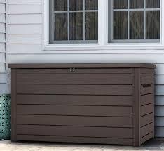 E Suncast Extra Large Deck Box Storage Tario