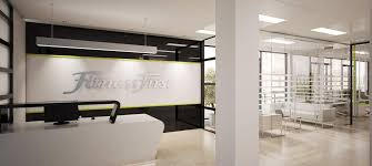 latest office designs. Office Refurbishment For Fitness First Latest Designs T