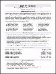 Property Manager Resumes Best Commercial Property Manager Resume Property Manager Resume Job