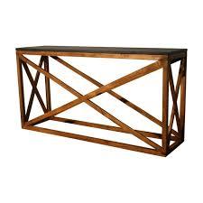 stone top console table black fossil demilune furniture full size accent granite sofa low serta perfect