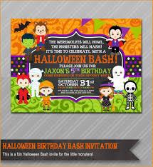 Party Invitations Brilliant Halloween Party Invitations Ideas