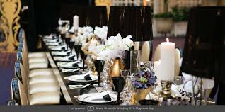 Art Deco Wedding Centerpieces Deco Table Setting Renewal Of Vows Pinterest Wedding