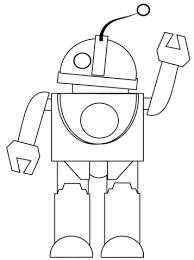 Disegni Da Colorare E Stampare Gratis Robot Fredrotgans