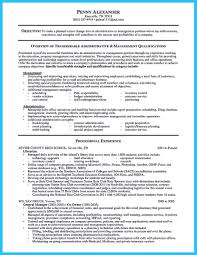 Manager Responsibilities Resume Resume Template For Manager Position Marketing Assistant Cover Sam